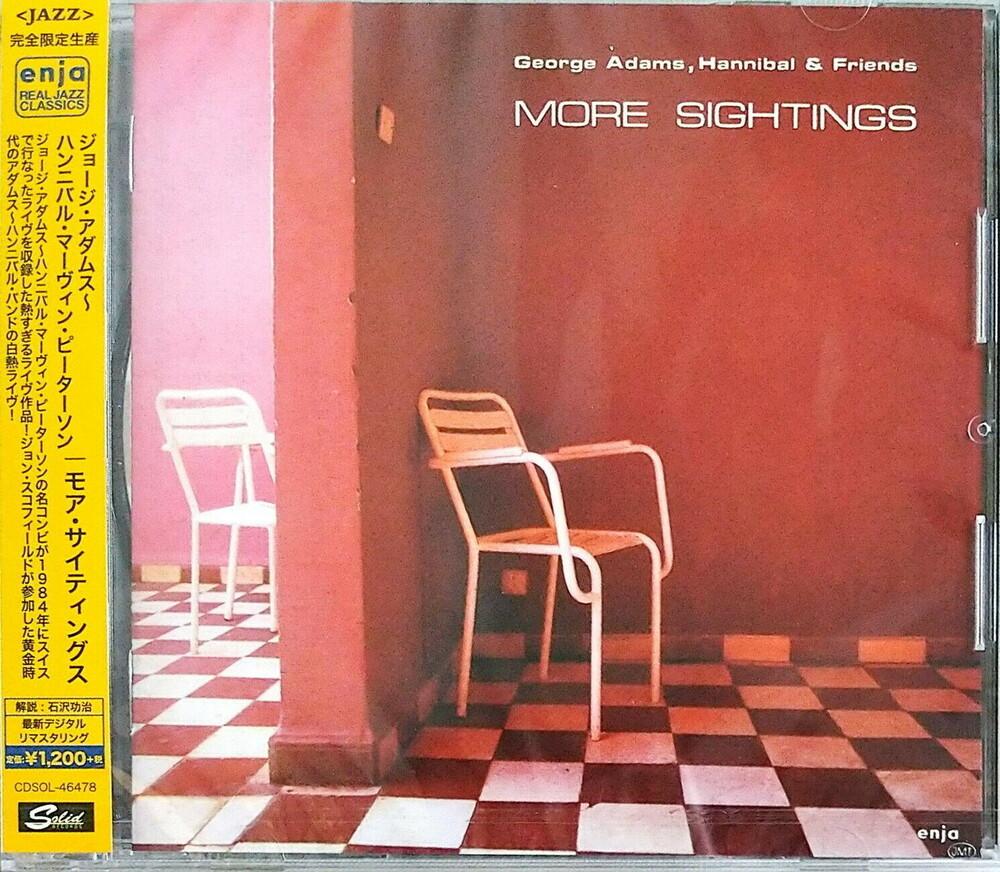 George Adams / Peterson,Hannibal Marvin - More Sightings (Ltd) (Rmst) (Jpn)