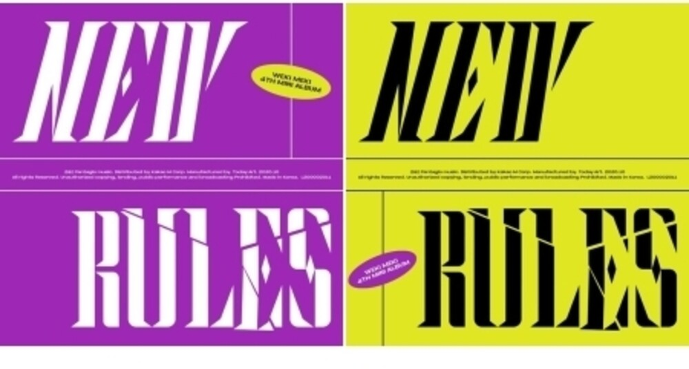 Weki Meki - New Rules (Random Cover) (incl. 72pg Photobook, Tag Card + Photocard)
