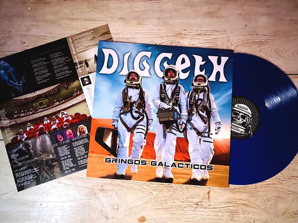 Diggeth - Gringo Galacticos (Blue Metallic Vinyl)