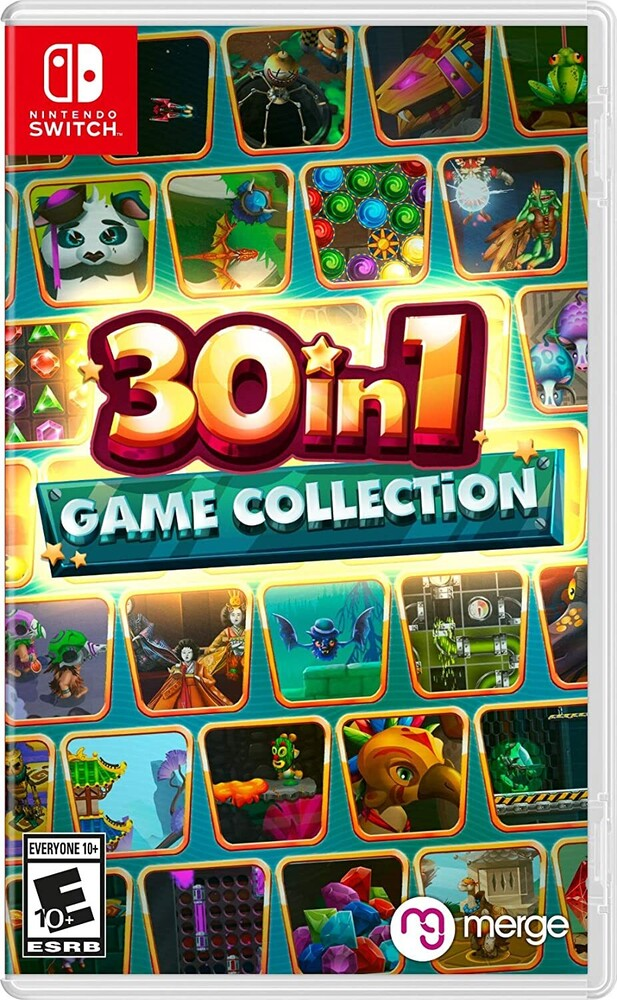 Swi 30 in 1 Game Collection - 30-In-1 Game Collection for Nintendo Switch