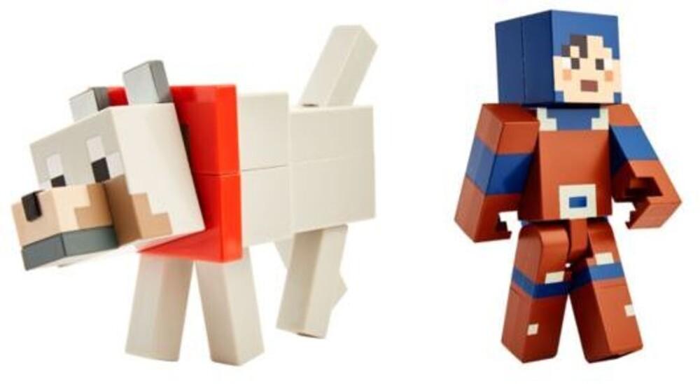 Minecraft - Mattel Collectible - Minecraft Large Scale Craft-a-Figure Assortment