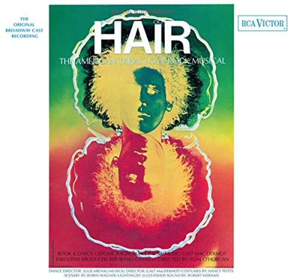 Hair / OCR Colv Grn Ltd Ogv Org Ylw - Hair / O.C.R. [Colored Vinyl] (Grn) [Limited Edition] [180 Gram] (Org) (Ylw)