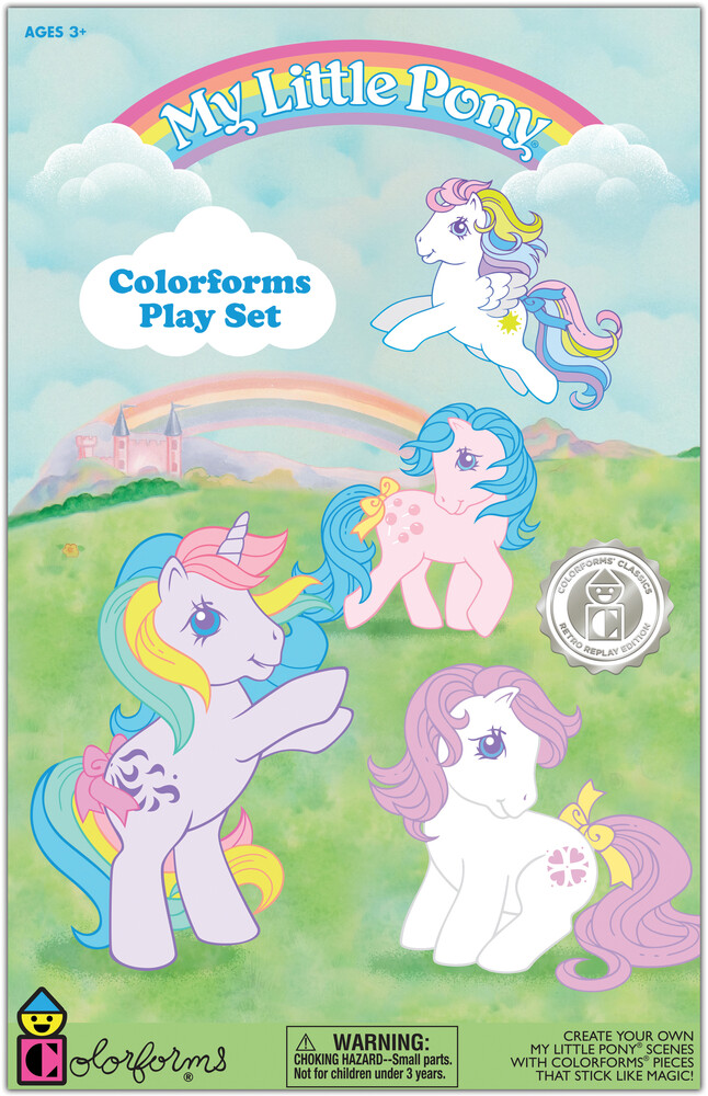 Colorforms My Little Pony Play Set - Colorforms My Little Pony Play Set
