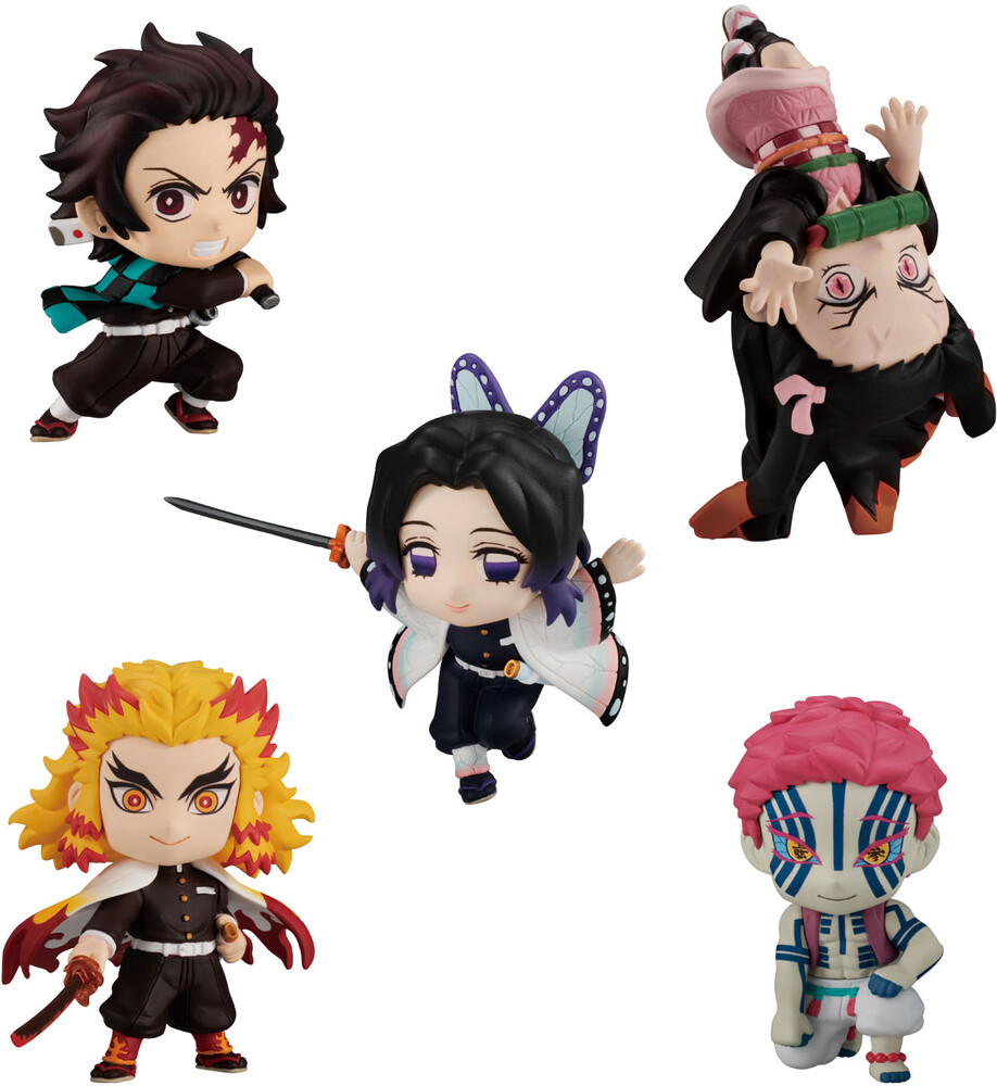 Shokugan - Shokugan - Demon Slayer: Adverge Motion 2 (Set of 5)