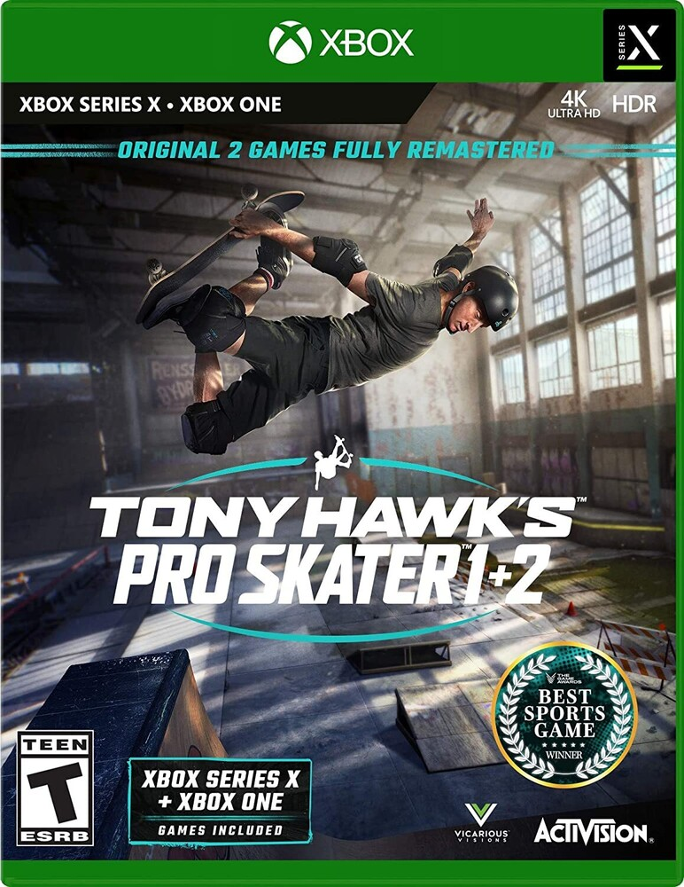 - Tony Hawk Pro Skater 1+2 for Xbox One & Xbox Series X Standard Edition