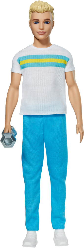 - Mattel - Barbie Ken with Striped Shirt, 60th Anniversary