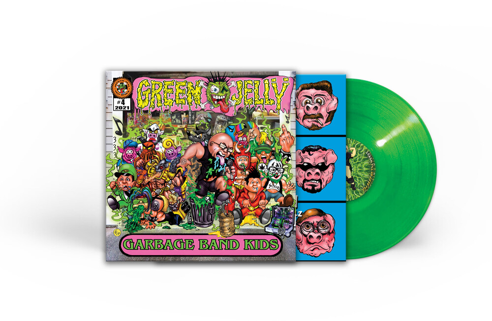 Green Jelly - Garbage Band Kids