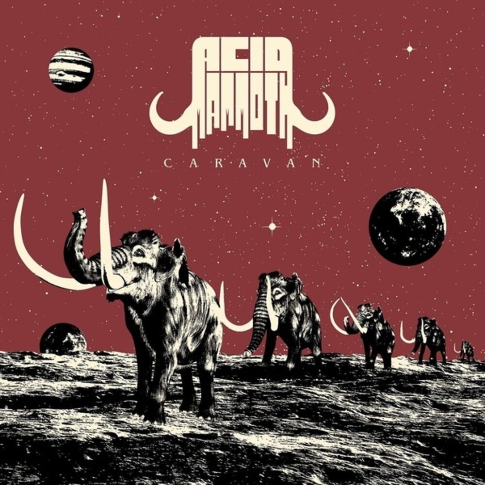 Acid Mammoth - Caravan [Colored Vinyl] (Red)