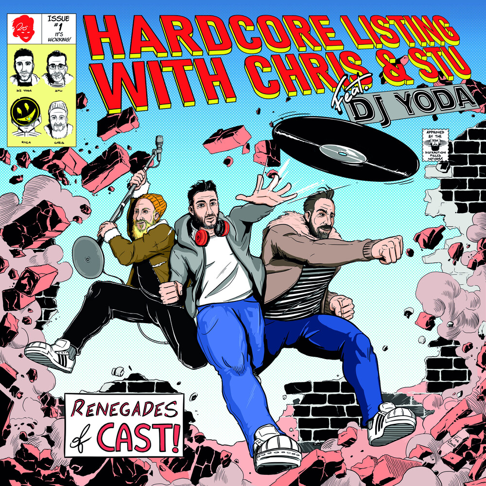 Chris & Stu - Hardcore Listing Feat Dj Yoda: Podcast On Vinyl 1