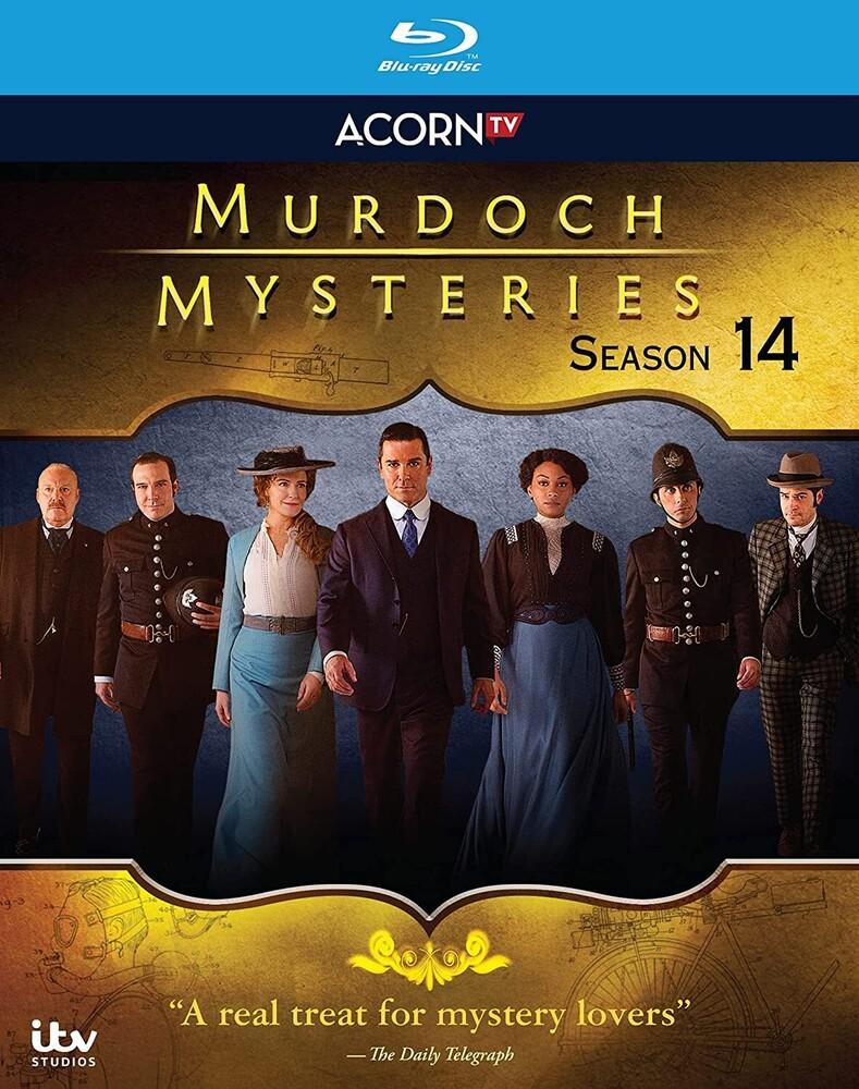 Murdoch Mysteries Series 14 Bd - Murdoch Mysteries Series 14 Bd (3pc) / (3pk)