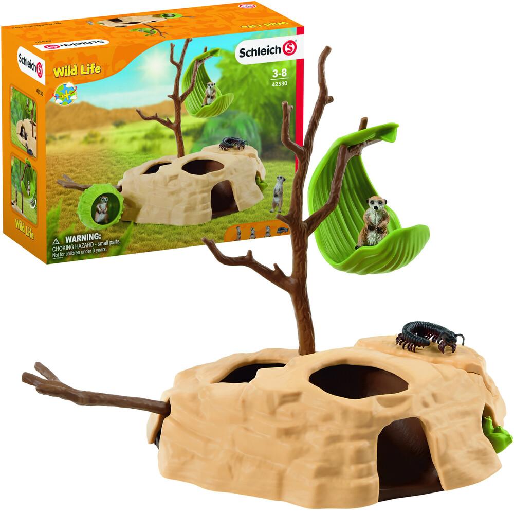 - Schleich Meerkat Hangout (Fig)