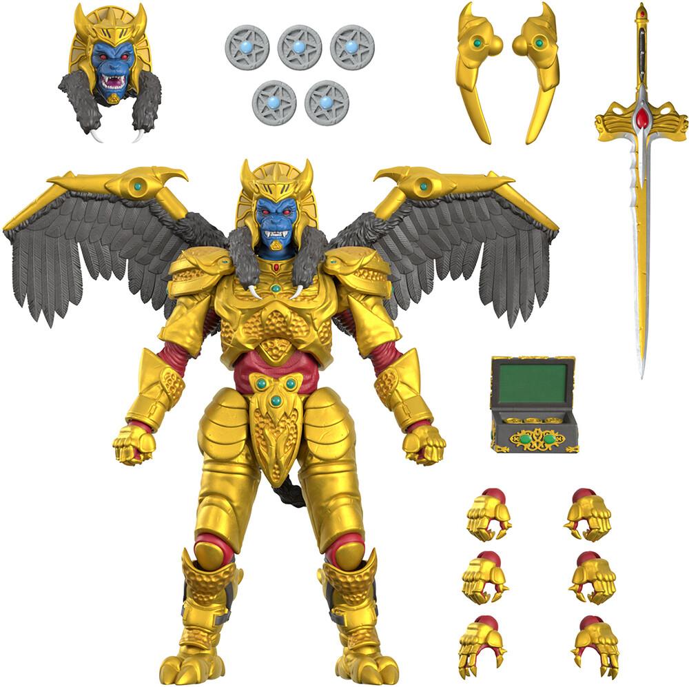 Power Rangers Ultimates! Wave 1 - Goldar - Power Rangers Ultimates! Wave 1 - Goldar (Afig)