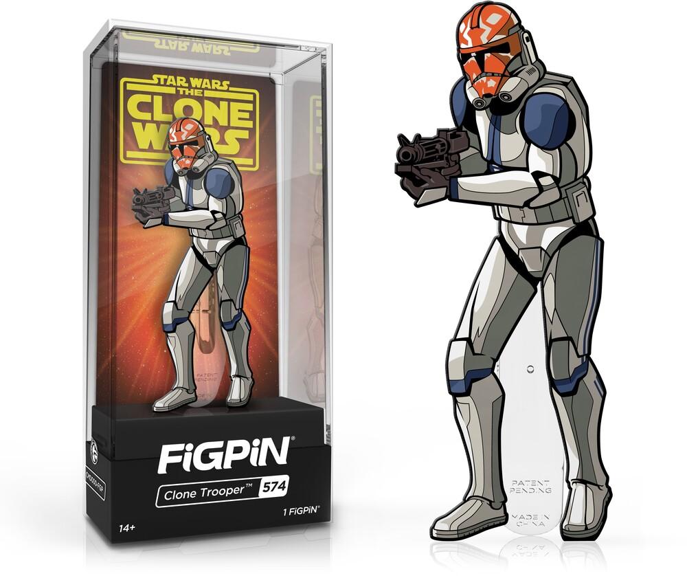 Figpin Star Wars the Clone Wars Clone Trooper #574 - Figpin Star Wars The Clone Wars Clone Trooper #574