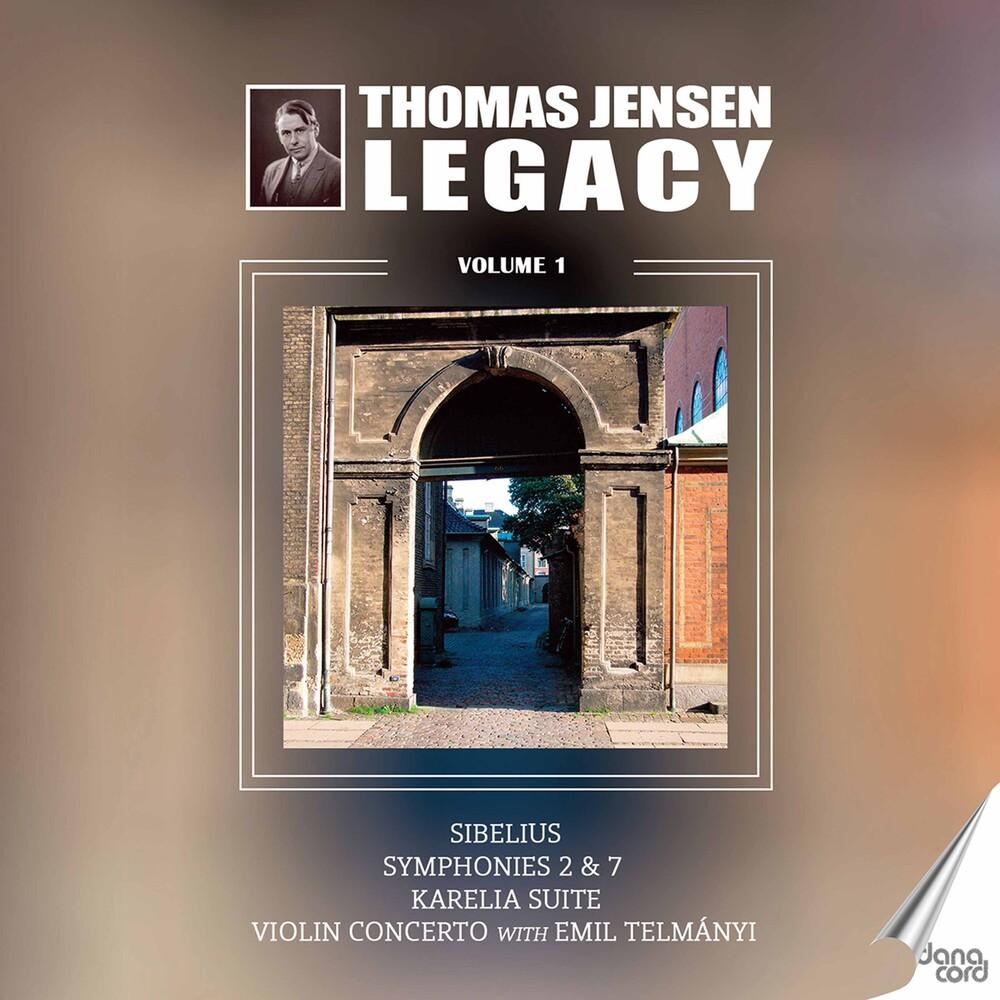 Sibelius / Danish Radio Symphony Orch - Thomas Jensen Legacy 1 (2pk)