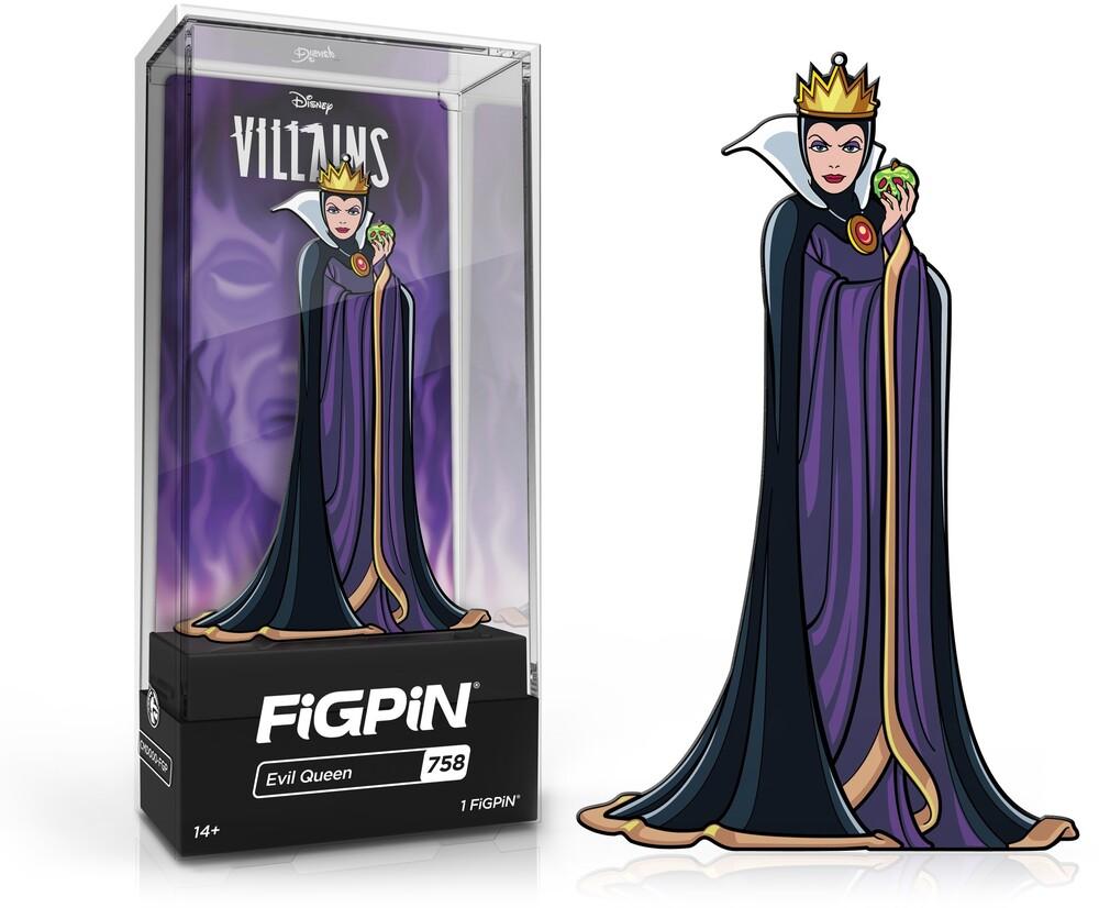 Figpin Disney Villains Evil Queen #758 - Figpin Disney Villains Evil Queen #758 (Clcb)