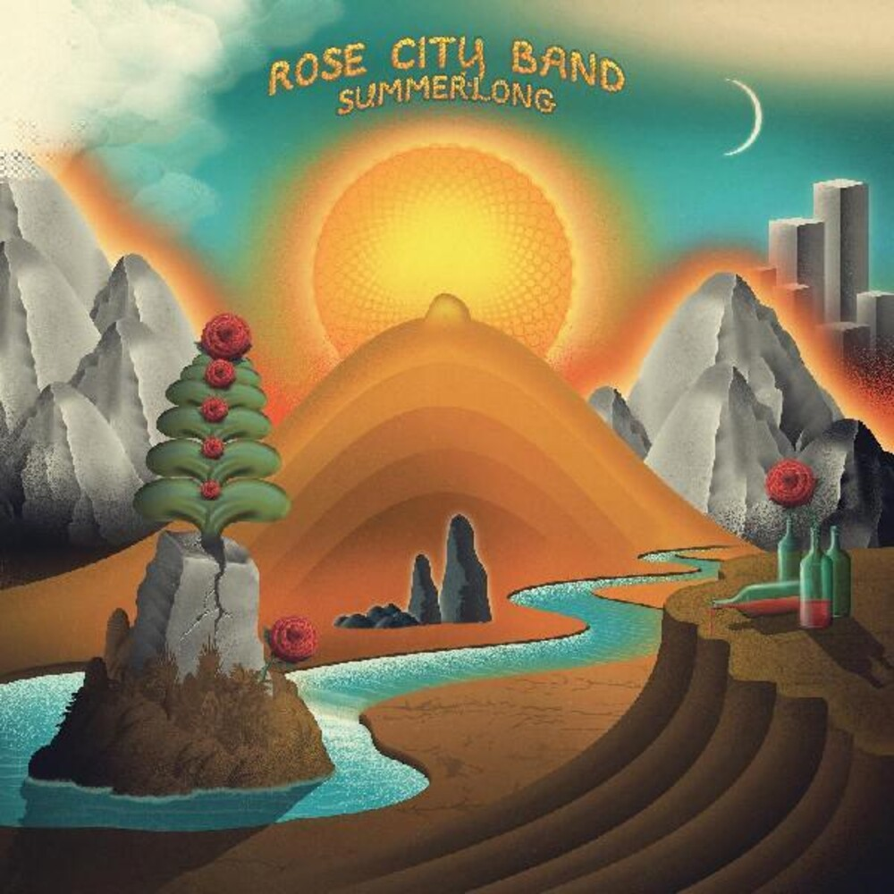 Rose City Band - Summerlong [Clear Vinyl] [Limited Edition] (Org) (Teal) [Indie Exclusive] [Download Included]