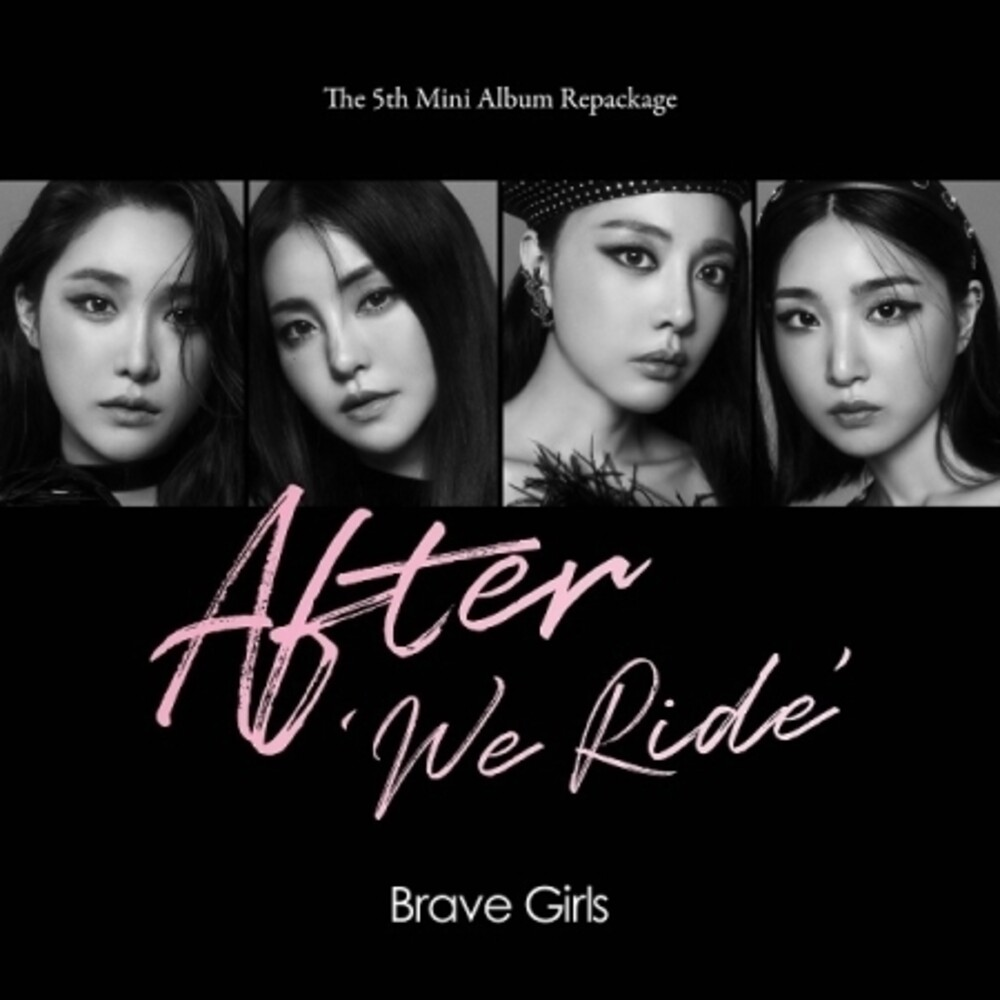 Brave Girls - After We Ride (incl. 84pg Photobook, Postcard, Photocard, Film Photocard, Polaroid Photocard + Sticker)