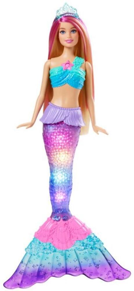 Barbie - Barbie Fairytale Light Up Mermaid 1 (Papd)