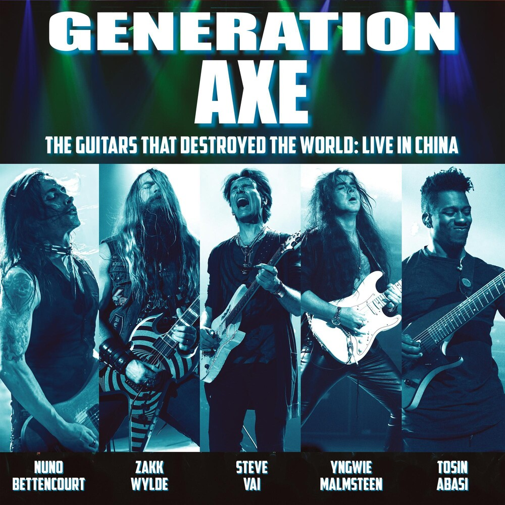 Vai / Wylde / Malmsteen / Bettencourt / Abasi - Generation Axe: Guitars That Destroyed That World