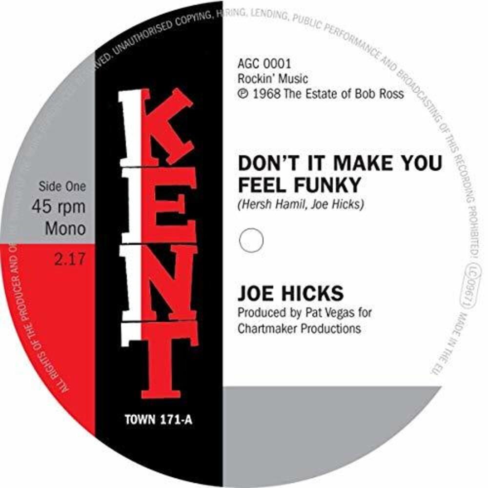 Joe Hicks - Don't It Make You Feel Funky / I Gotta Be Free