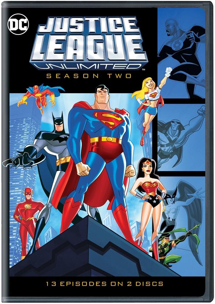 - Justice League Unlimited: Complete Second Season