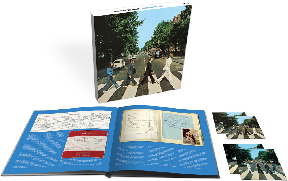 The Beatles - Abbey Road: Anniversary Edition [Super Deluxe Box Set 3CD/Blu-ray]