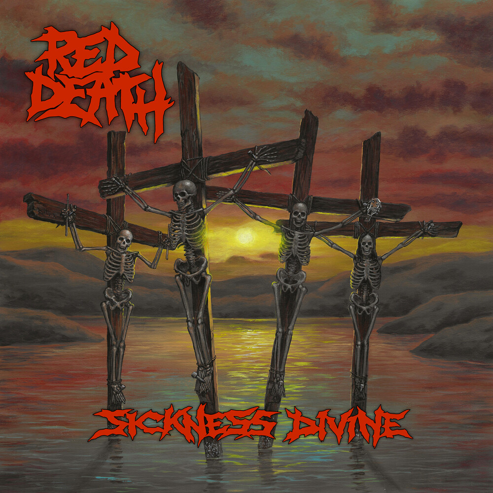 Red Death - Sickness Divine [Colored Vinyl] (Gate) [180 Gram] (Post) (Red)