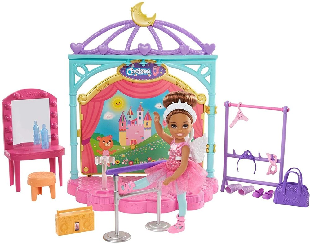 Barbie - Mattel - Barbie Club Chelsea Doll and Ballet Playset