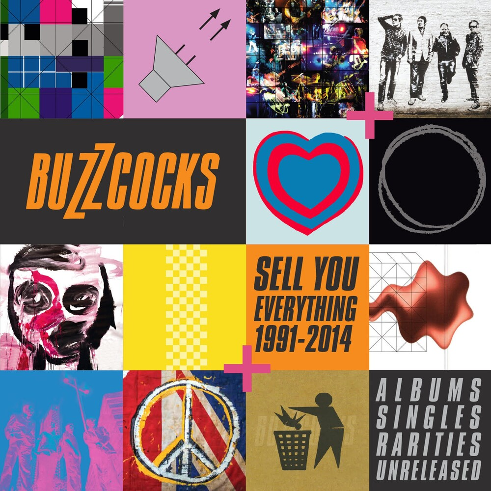 Buzzcocks - Sell You Everything (1991-2004) Albums Singles