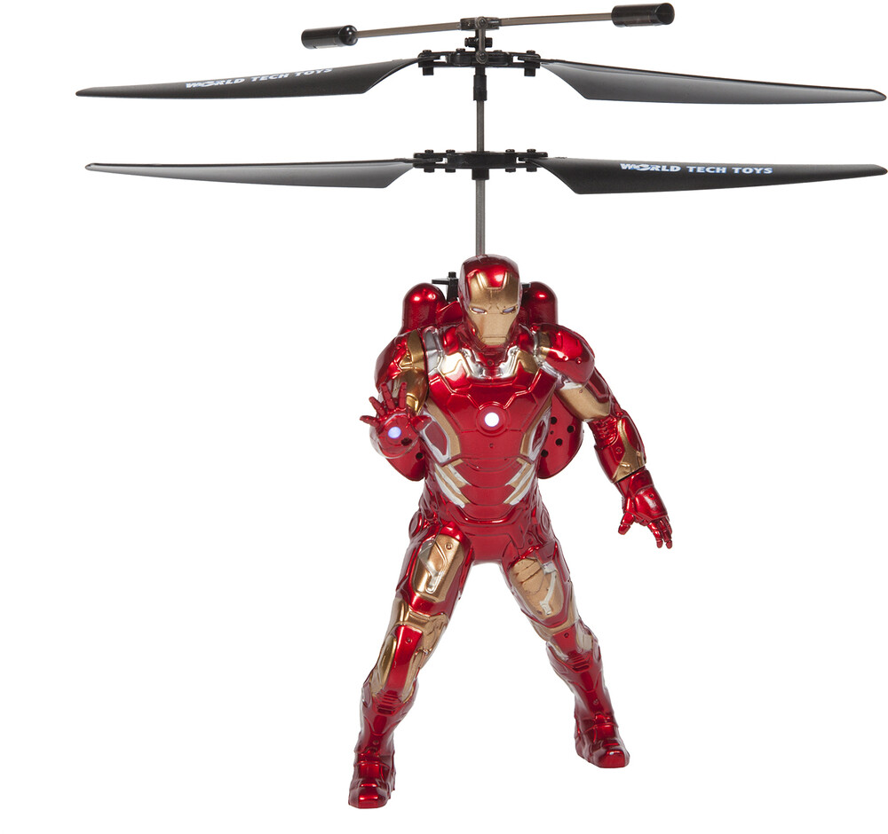 Rc Figures - Marvel Avengers Iron Man Flying Figure IR Helicopter (Marvel, Avengers, Iron Man)
