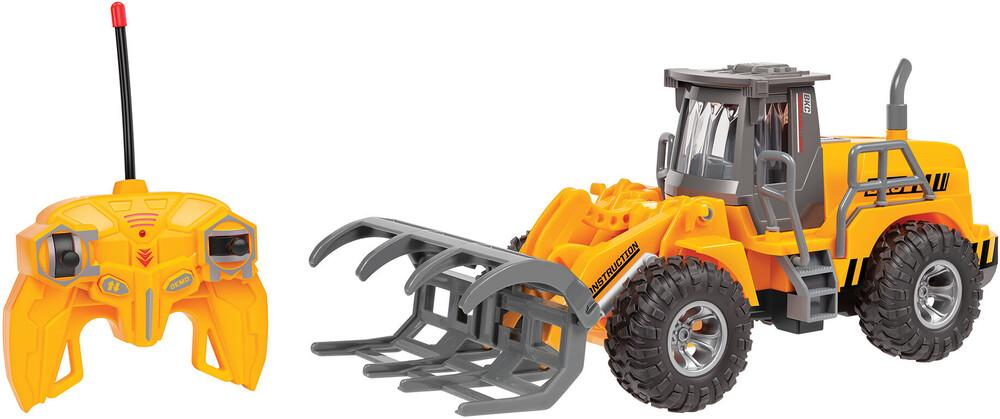 Rc Vehicles - Big Kid's Construction: 1:30 RC Motorized Log Grabber Wheel Loader