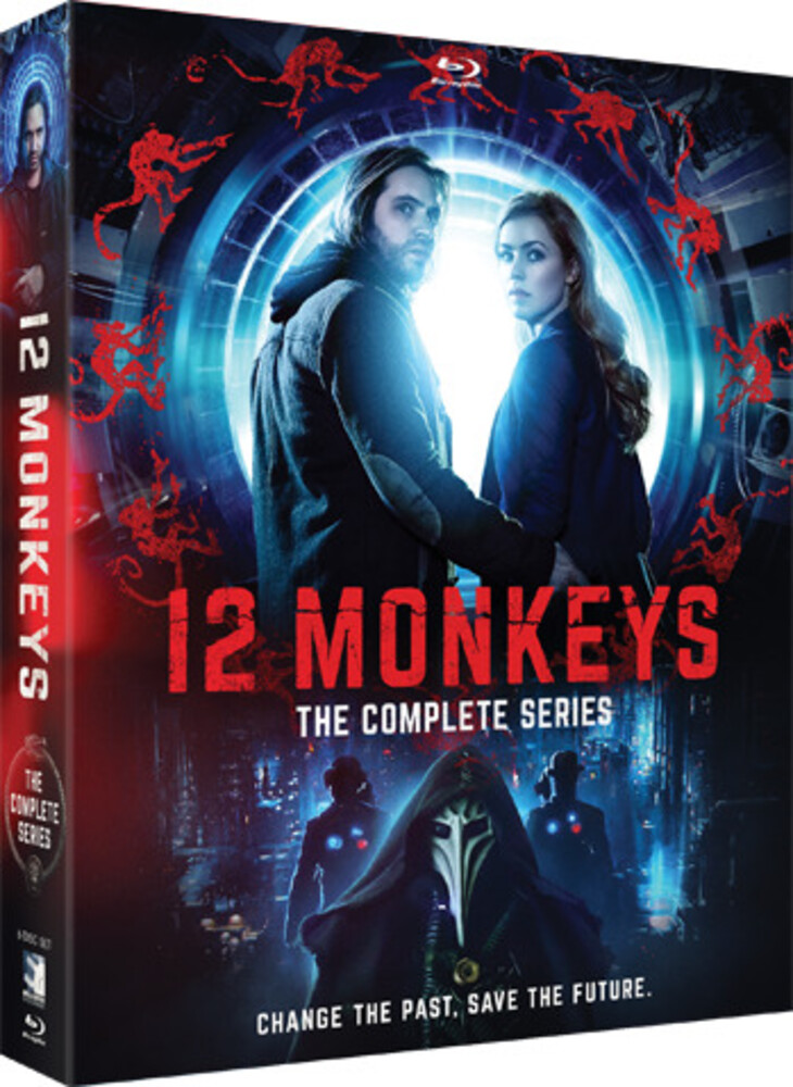 12 Monkeys: Complete Series - 12 Monkeys: Complete Series (8pc) / (Box)
