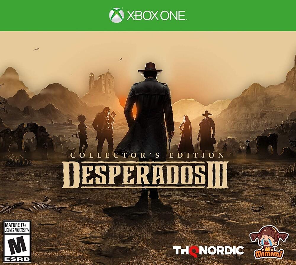 - Desperados III Collector's Edition for Xbox One