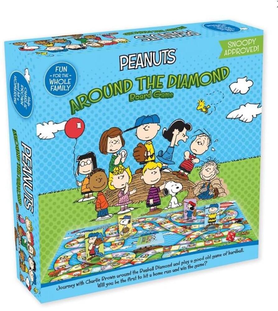 Peanuts Around the Diamond Board Game - Peanuts Around The Diamond Board Game
