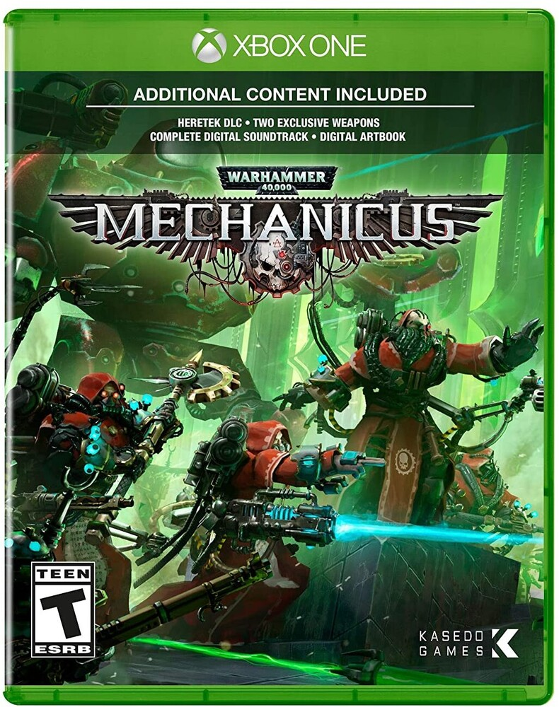 - Warhammer 40K: Mechanicus for Xbox One