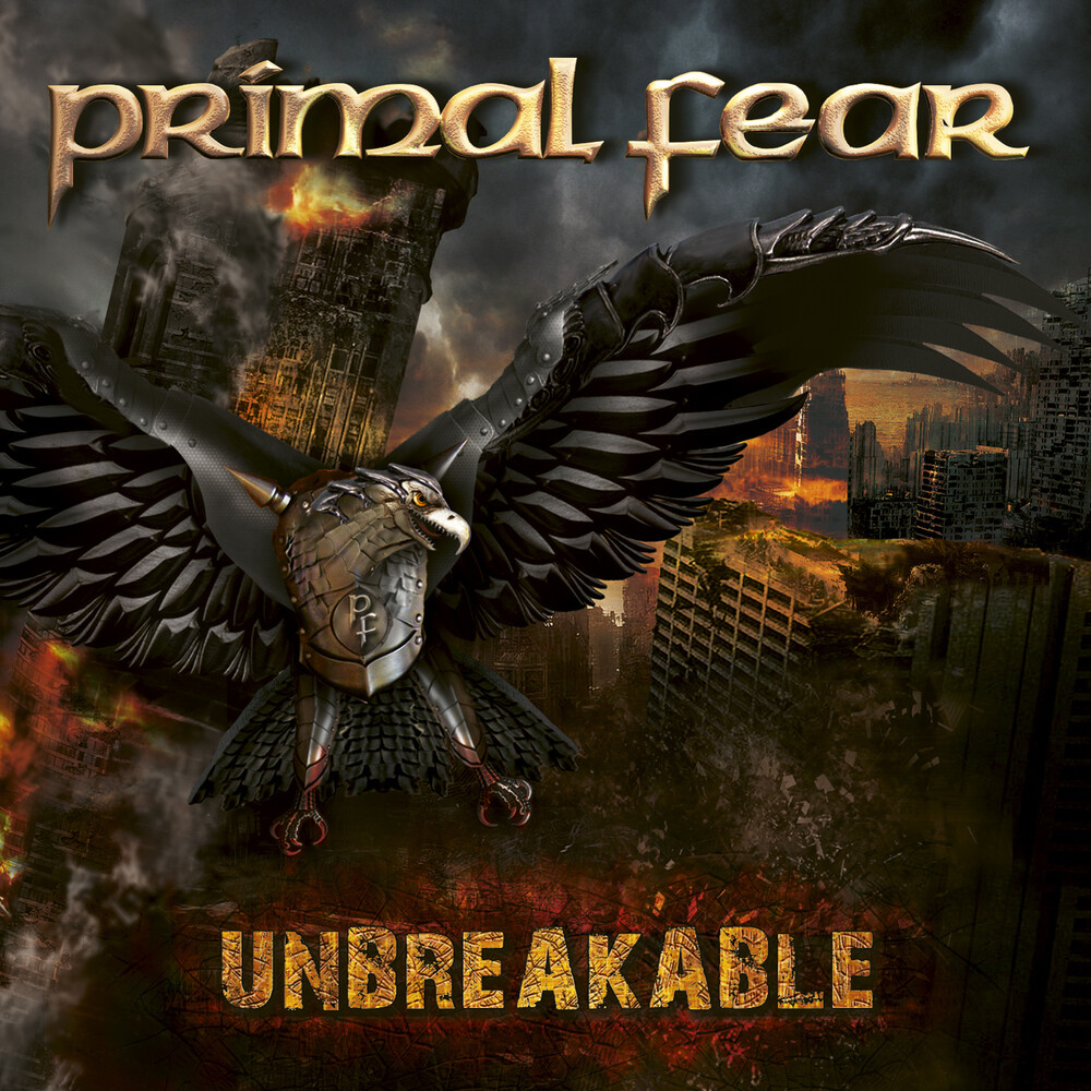 Primal Fear - Unbreakable [Limited Edition White/Black Marble LP]