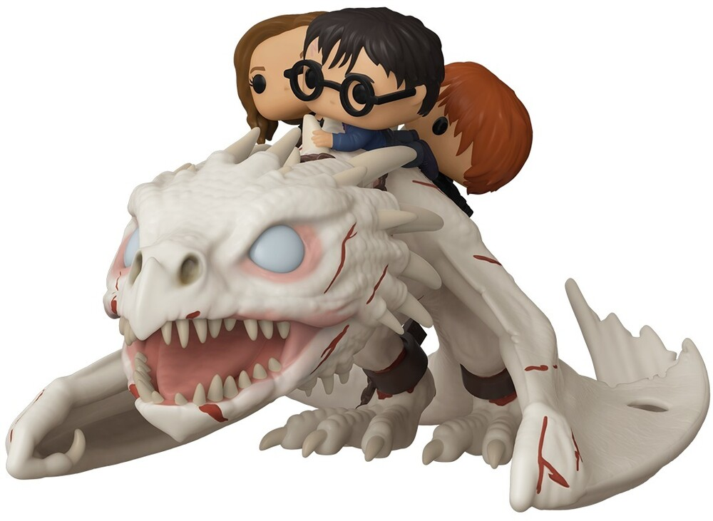 - FUNKO POP! RIDE: Dragon w/Harry, Ron, & Hermione