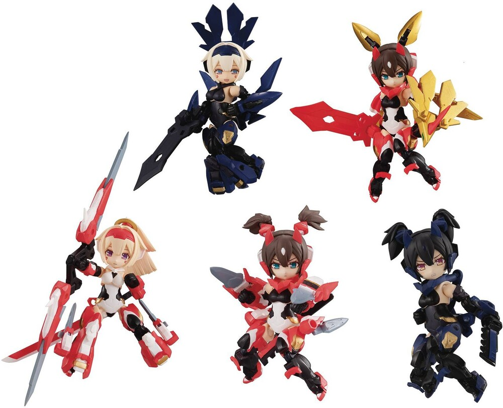 Megahouse - Megahouse - Desktop Army Megami Device Asura 4pc Display