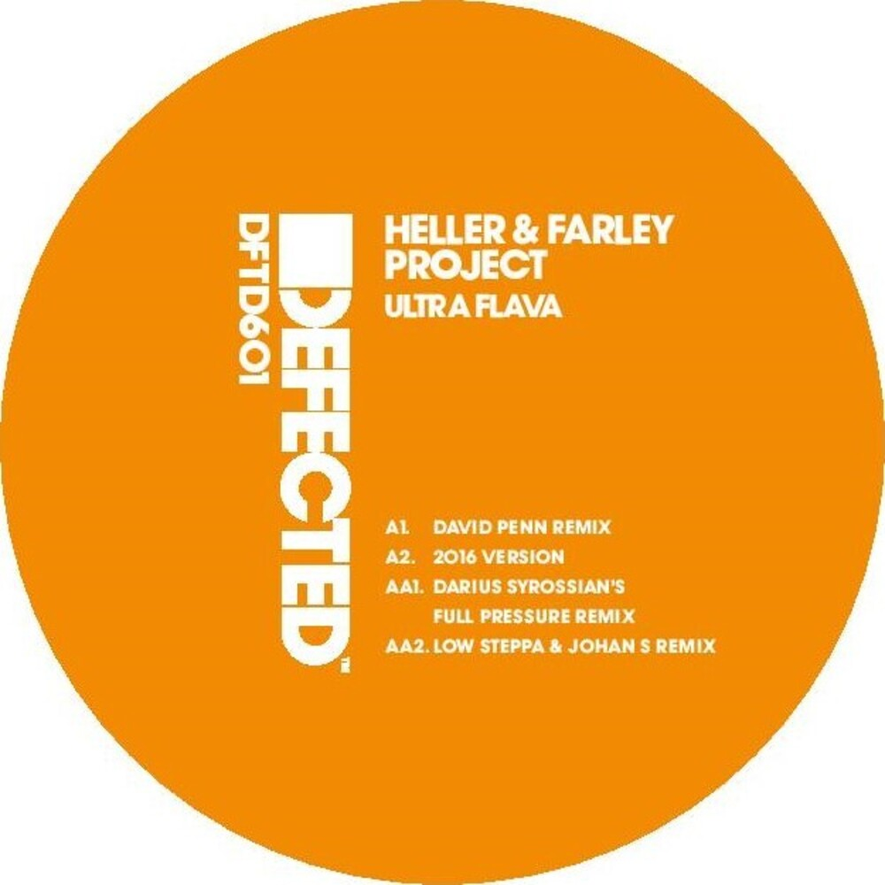 Heller & Farley Project - Ultra Flava Remixes