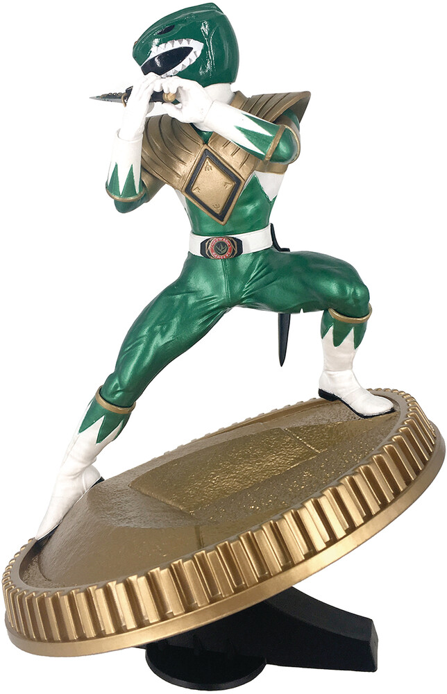 - PCS Collectibles - Power Rangers Green Ranger 1:8 Scale PVC Statue