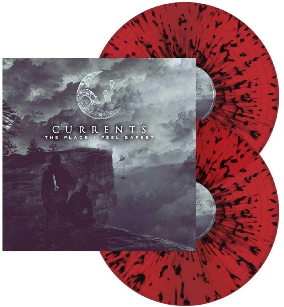Currents - Place I Feel Safest (Blood Red W/ Black Splatter)