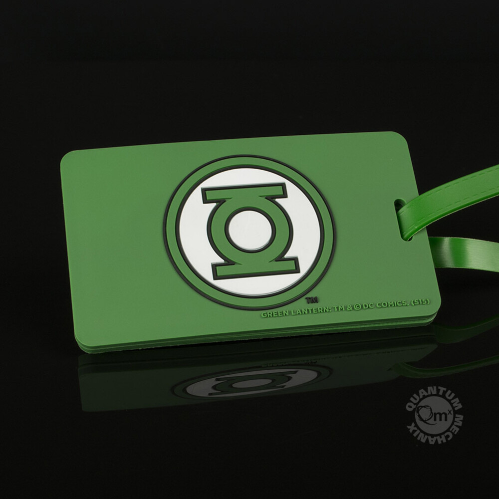 Dc Comics - Green Lantern Q-Tag - Quantum Mechanix - DC Comics - Green Lantern Q-Tag