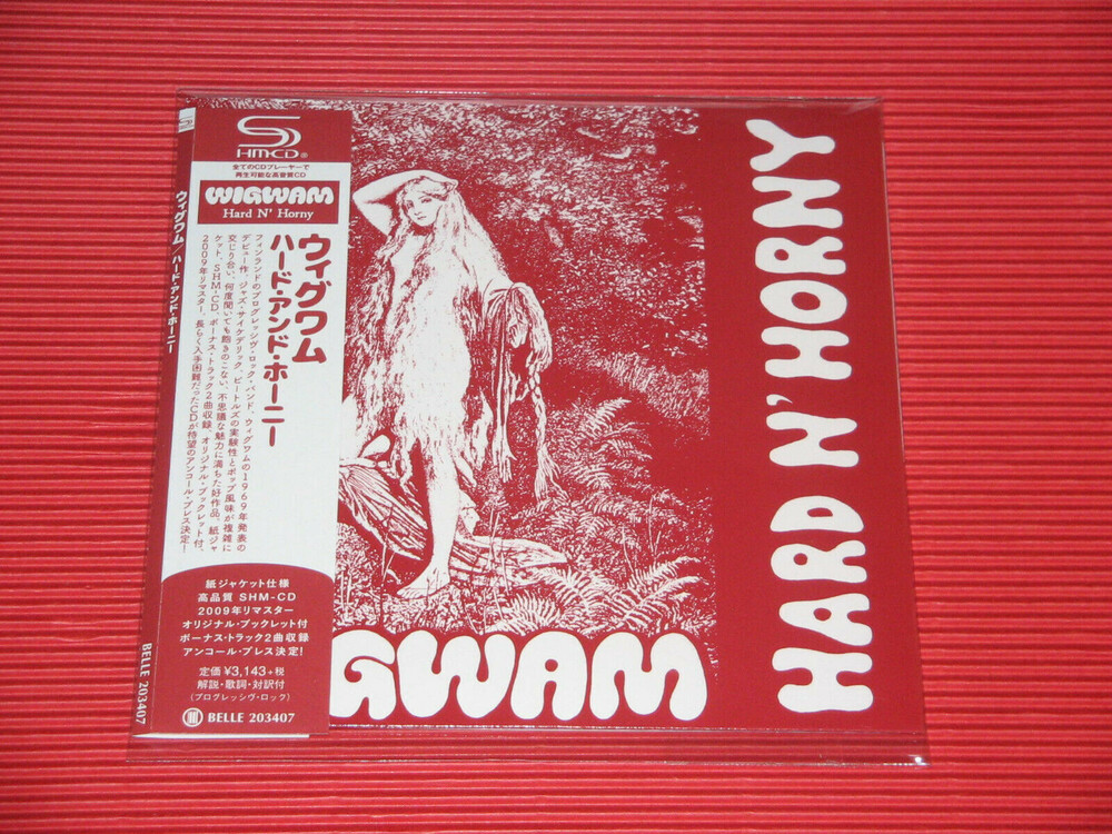Wigwam - Hard N Horny (Bonus Track) (Jmlp) [With Booklet] [Remastered]