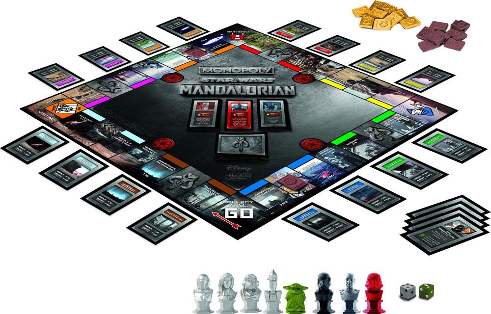 Monopoly Mandalorian - Hasbro Collectibles - Monopoly Mandalorian