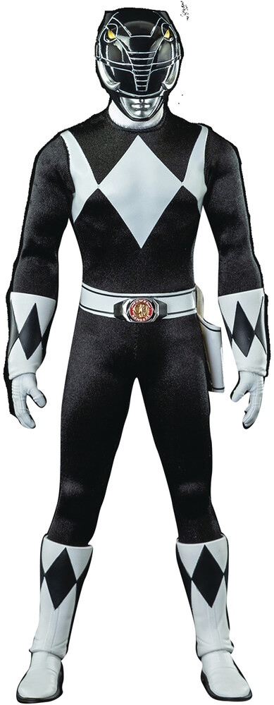 THREEZERO - THREEZERO - Mighty Morphin Power Rangers Black Ranger 1/6 Scale ActionFigure (Net)