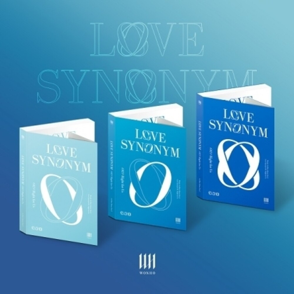 Wonho - Love Synonym #2 (Right for Us) (incl. 200pg Photobook, Poster, Photocard + Stamp Sticker)