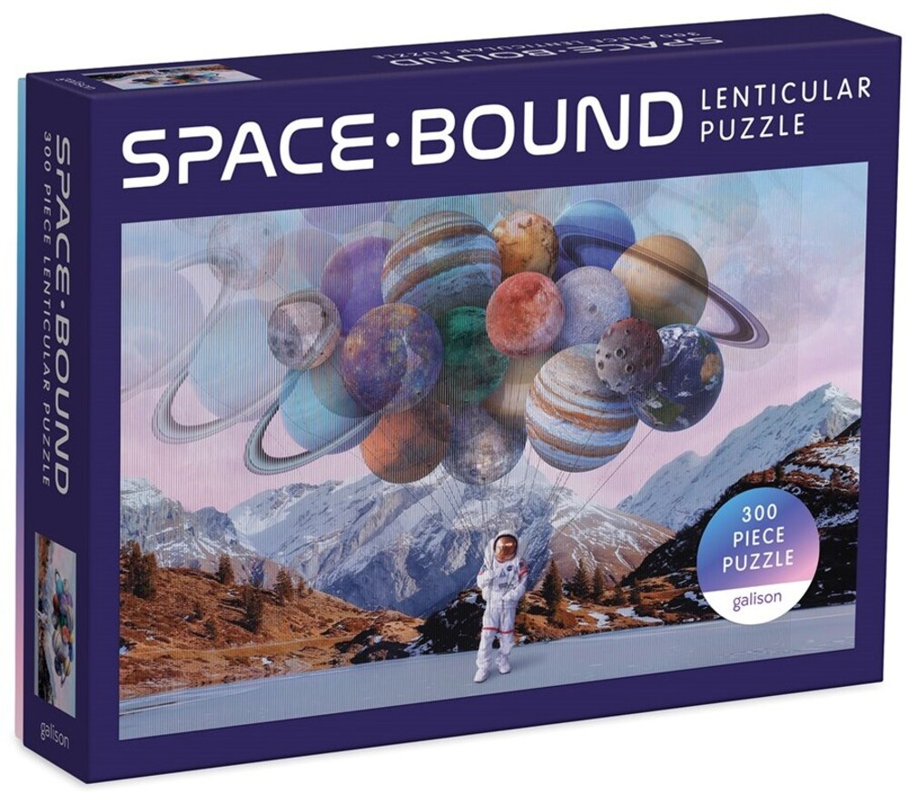 - Space-Bound 300 Piece Lenticular Puzzle