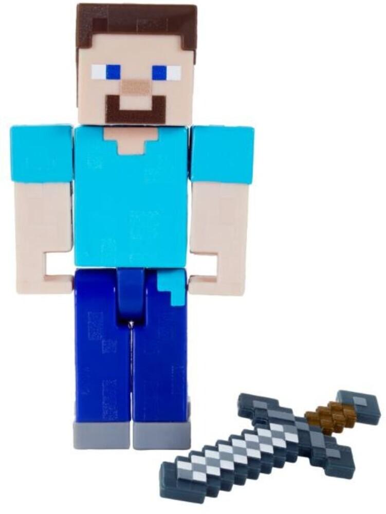 Minecraft - Mattel Collectible - Minecraft 3.25 Steve
