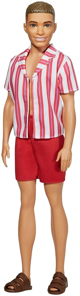 - Mattel - Barbie Ken with Swimsuit & Sandals, 60th Anniversary