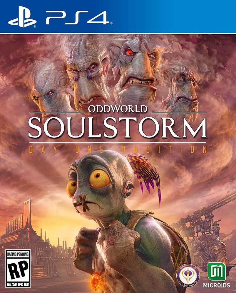 - Ps4 Oddworld: Soulstorm Day 1 Oddition